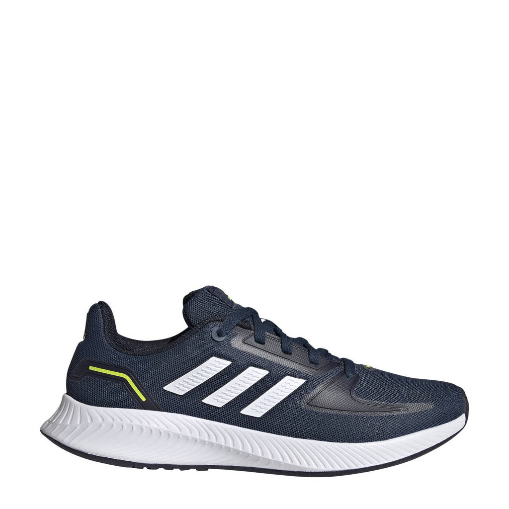 adidas Performance Runfalcon 2.0 Classic sneakers donkerblauw/wit kids, Donkerblauw/wit