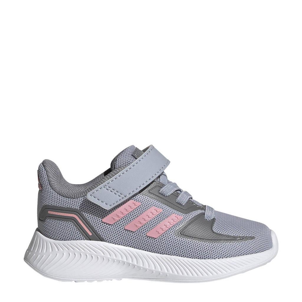 adidas Performance Runfalcon 2.0 Classic sneakers  zilver/roze/grijs, Zilver/roze/grijs