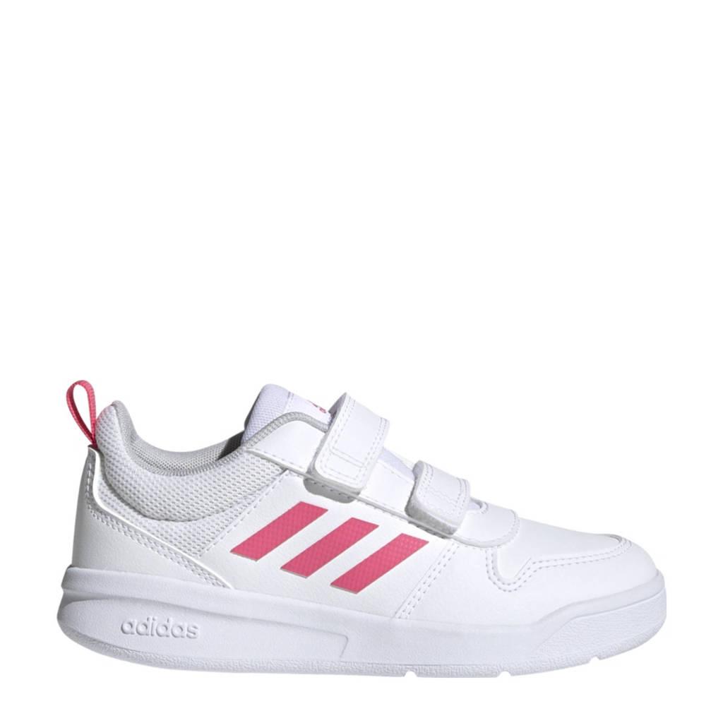 adidas Performance Tensaur Classic sneakers  wit/roze kids, Wit/roze