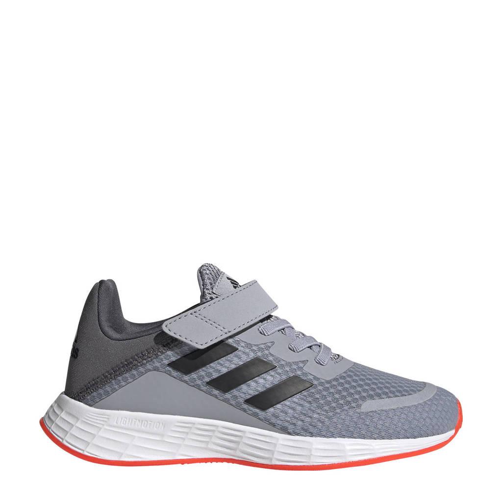 adidas Performance Duramo Sl Classic sneakers zilver/zwart/rood kids, Zilver/zwart/rood