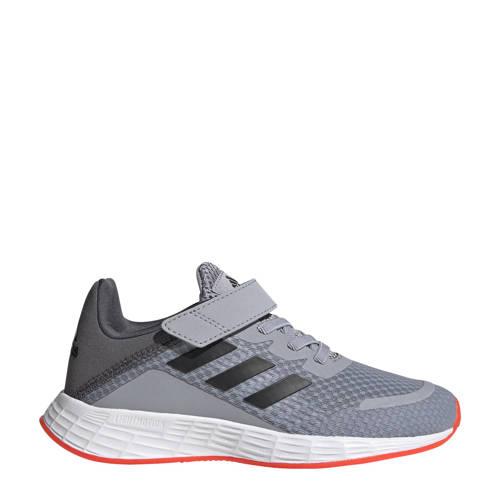 adidas Performance Duramo Sl Classic sneakers zilver/zwart/rood kids