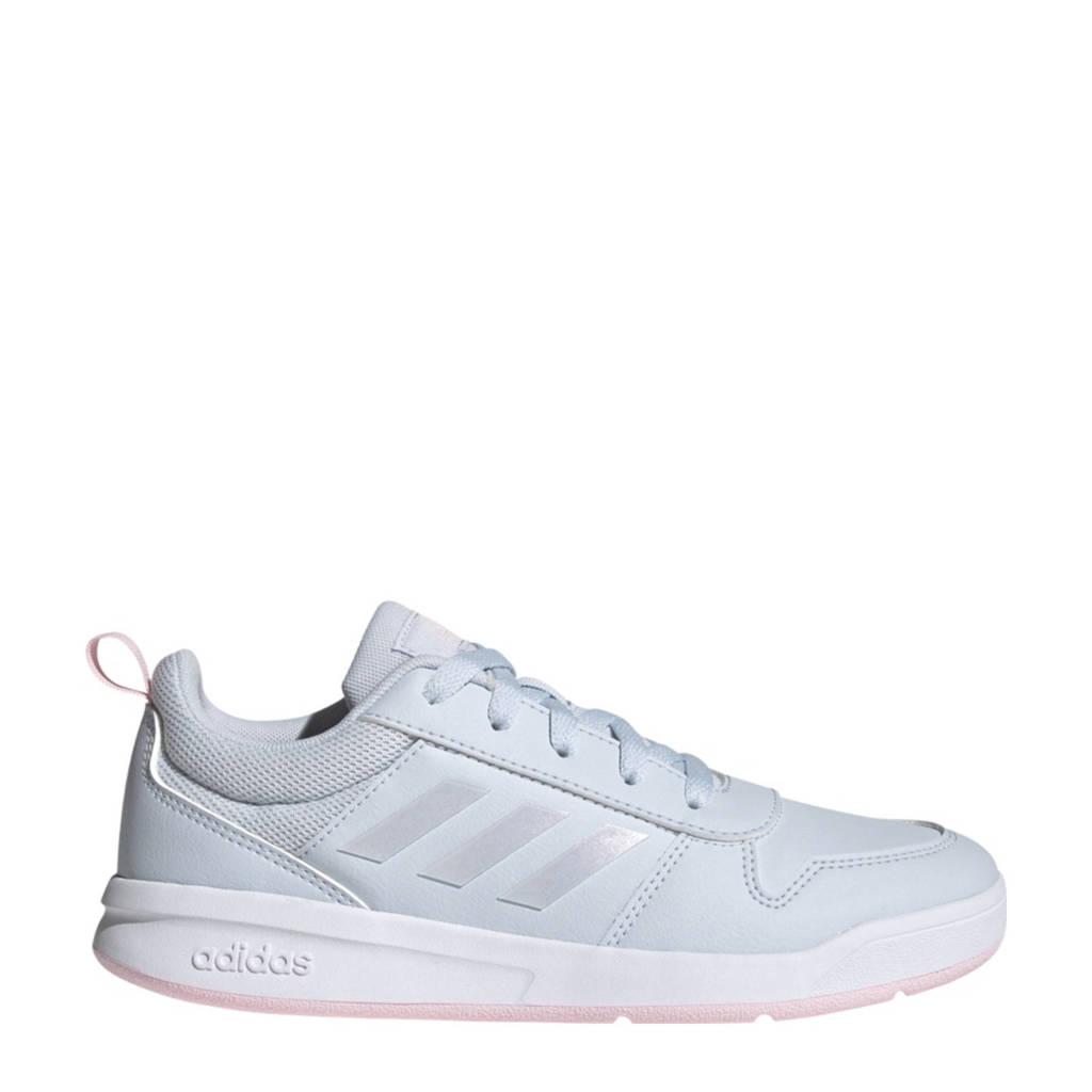 adidas Performance Tensaur K sneakers lichtblauw/roze kids, Lichtblauw/roze