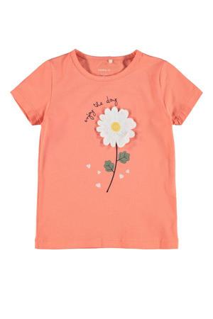 T-shirt Daruna met biologisch katoen roze