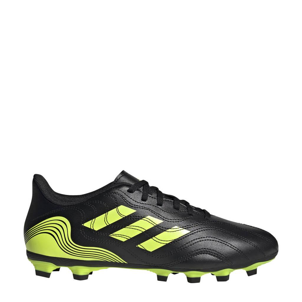 adidas Performance Copa Sense.4 FG Sr. voetbalschoenen zwart/geel, Zwart/geel