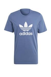 adidas Originals Adicolor T-shirt blauw/wit, Blauw/wit