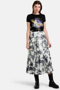 Eksept by Shoeby T-shirt Future met printopdruk zwart, Zwart