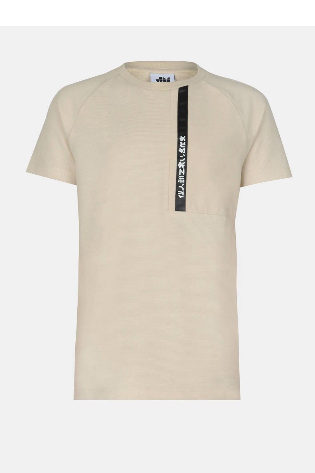 Shoeby Jill & Mitch T-shirt Finn zand, Zand