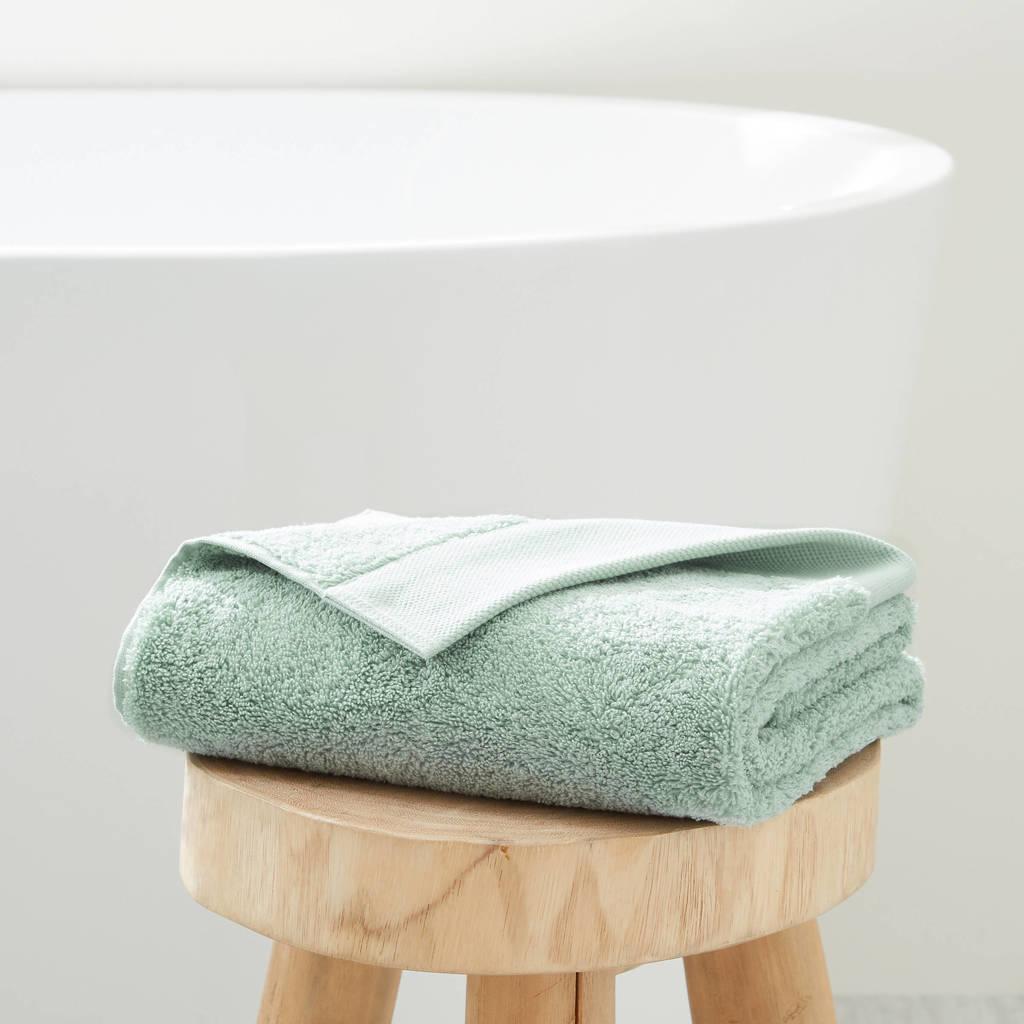 wehkamp home handdoek hotelkwaliteit (50 x 100 cm) Groen