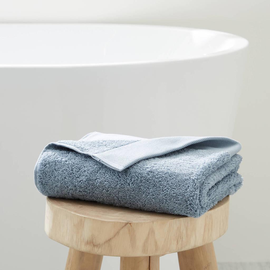 wehkamp home handdoek hotelkwaliteit (50 x 100 cm) lichtblauw, Lichtblauw