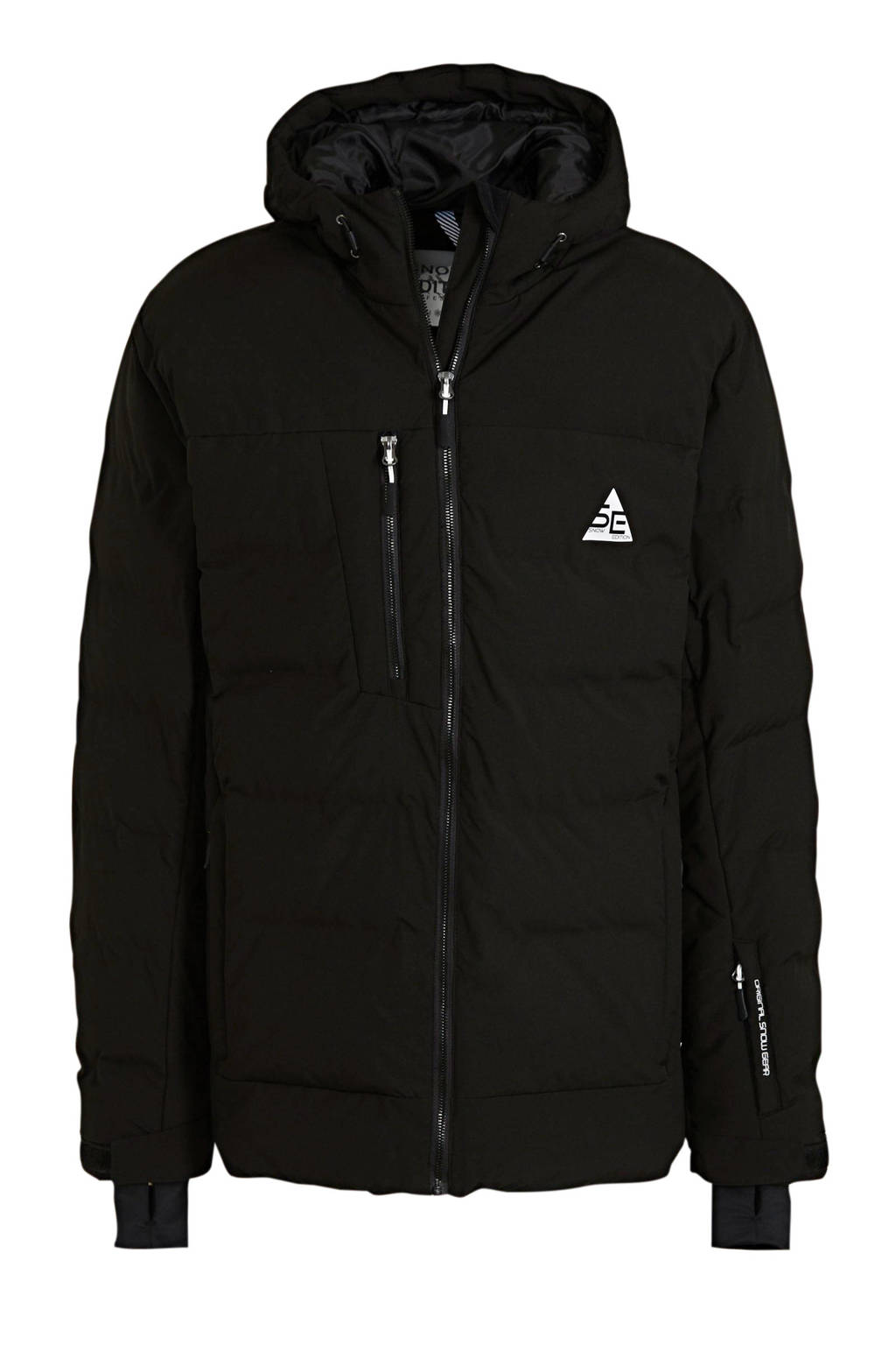 C&A Rodeo ski-jack zwart, Zwart