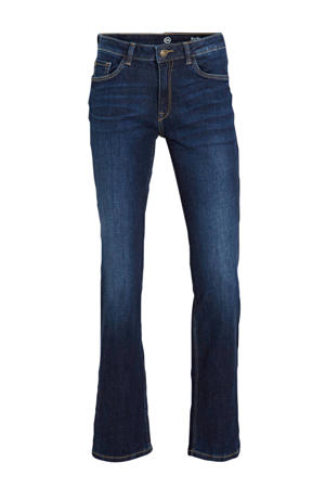 straight fit jeans dark denim stonewashed