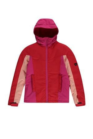 ski-jack Blaze rood/roze