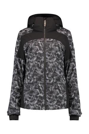 ski-jack Wavelite zwart/grijs