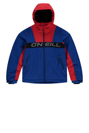 ski-jack blauw/rood