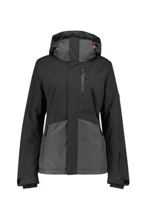 ski-jack Coral zwart/grijs