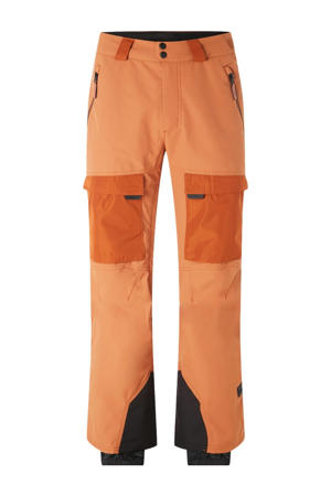 skibroek Utility oranje