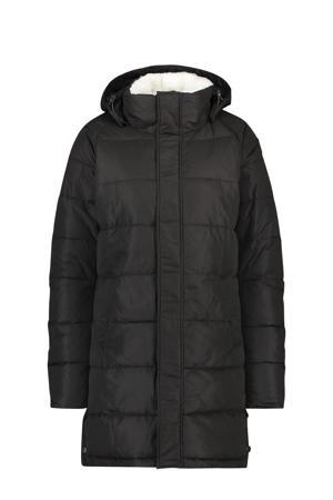 gewatteerde jas Control zwart