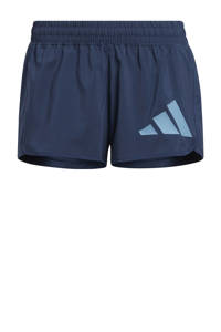 adidas Performance sportshort donkerblauw/grijsblauw