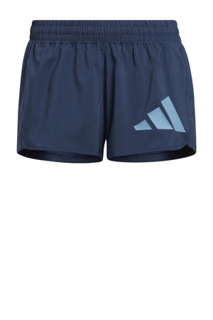 sportshort donkerblauw/grijsblauw