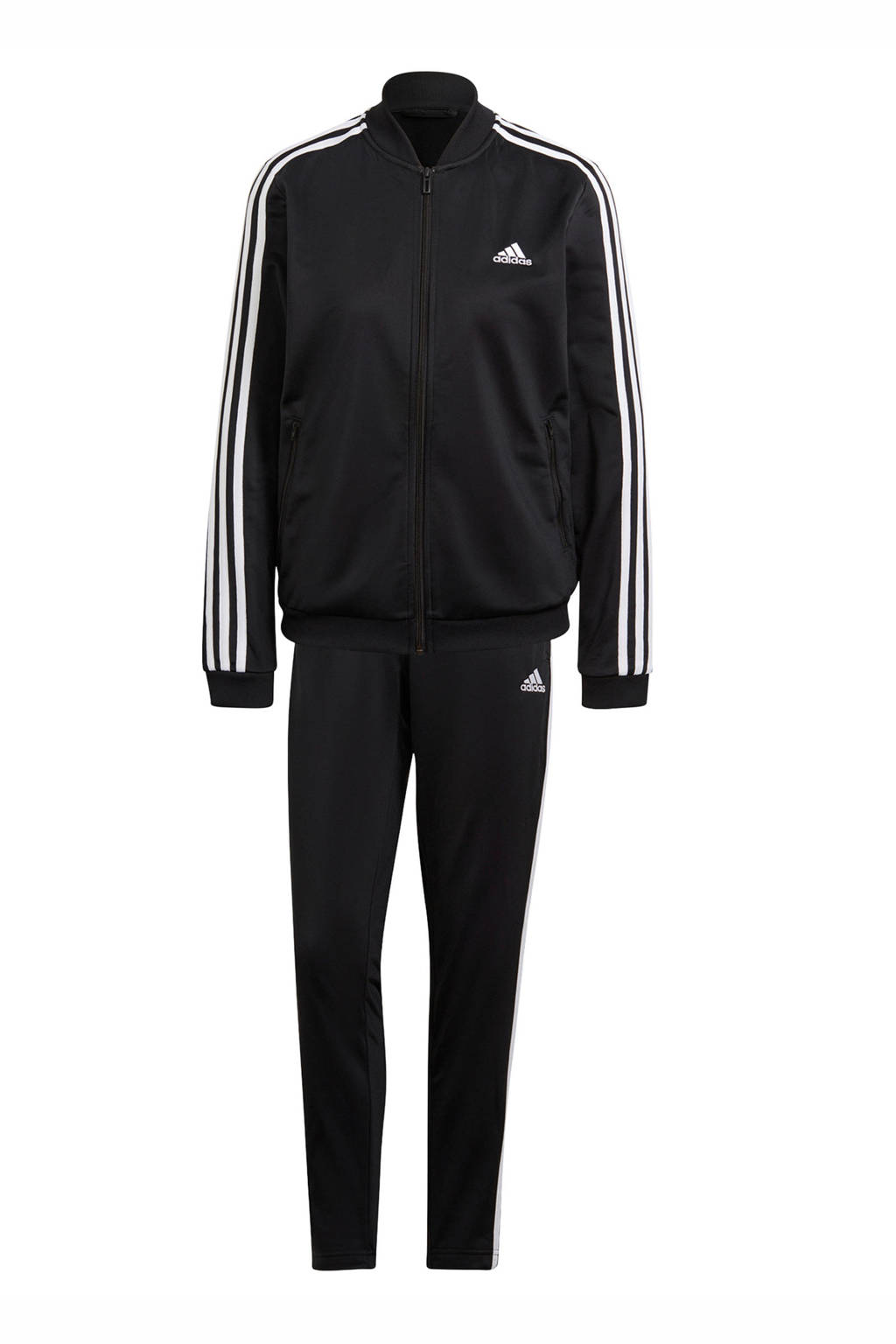 adidas Performance trainingspak zwart/wit, Zwart/wit