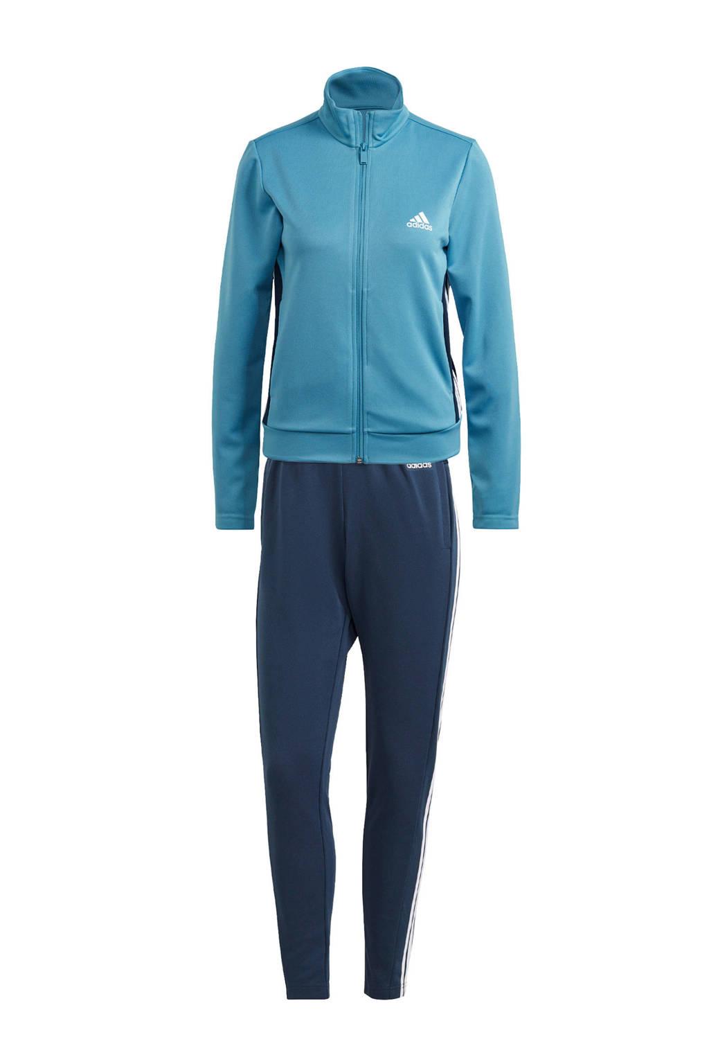 adidas Performance trainingspak donkerblauw/lichtblauw, Donkerblauw/lichtblauw