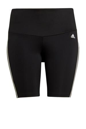Plus Size Designed2Move sportshort zwart/wit
