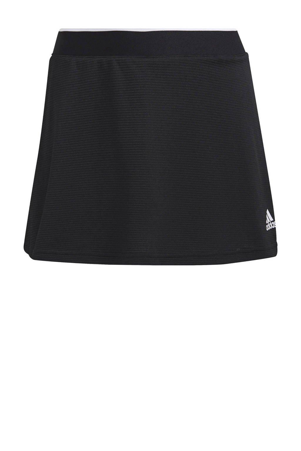 adidas Performance sportrokje zwart, Zwart/wit