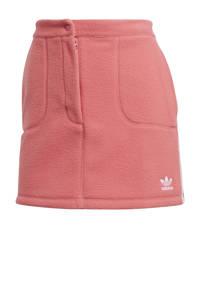 adidas Originals Adicolor fleece rok lichtroze/wit, Roze