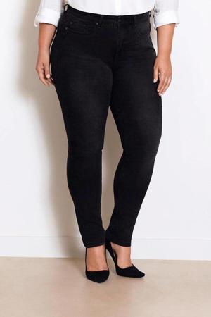 IRI Jet Black high waist slim fit jeans