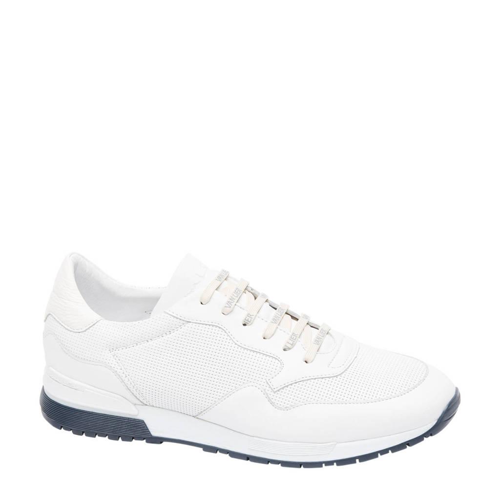 Van Lier Chavar  leren sneakers wit, Wit