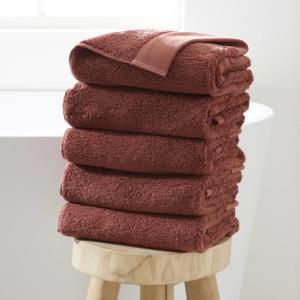 handdoek hotelkwaliteit (set van 5) (50 x 100 cm) Donkerrood
