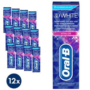 3D White Vitalize tandpasta - 12 x 75 ml