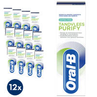Oral-B Tandvlees Purify Extra Fris tandpasta - 12 x 75 ml