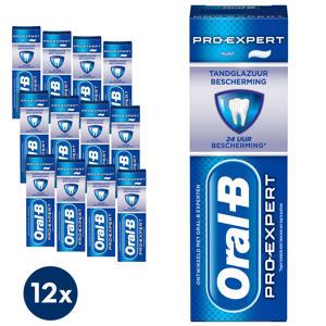 Pro-Expert Tandglazuur Bescherming tandpasta - 12 x 75 ml