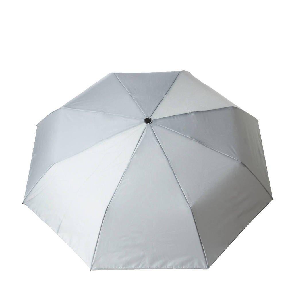 anytime paraplu zilvergrijs, Zilvergrijs