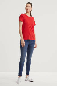 anytime T-shirt rood, Rood