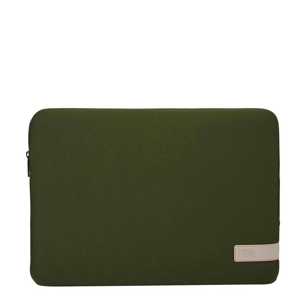 Case Logic  15.6 inch laptop sleeve Reflect  (Groen)