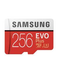 Samsung EVO+256GB geheugenkaart microSD