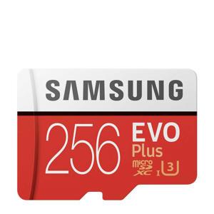 EVO+256GB geheugenkaart microSD