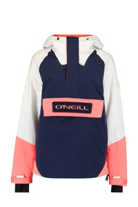 O'Neill ski-anorak O'Riginals donkerblauw/wit/roze, Donkerblauw/wit/roze