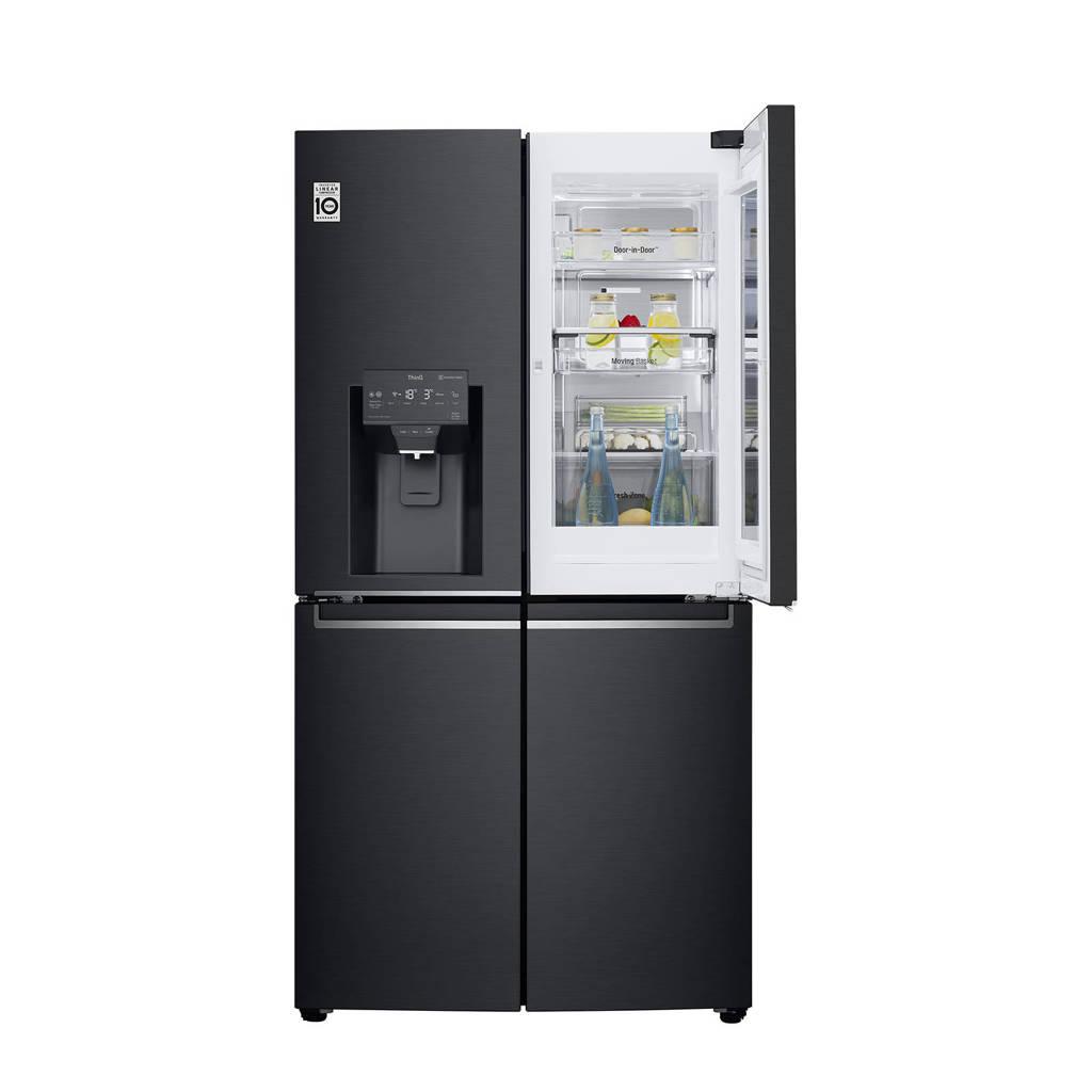 LG GMX945MC9F amerikaanse koelkast, Zwart