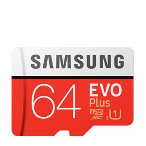 EVO+64GB CLASS10 micro SD geheugenkaart