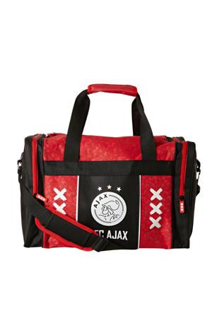 Ajax sporttas rood/zwart/wit