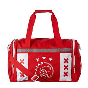 Ajax Amsterdam sporttas rood/wit