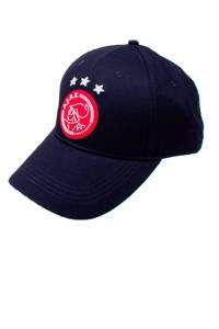 Ajax senior pet met logo donkerblauw, Donkerblauw