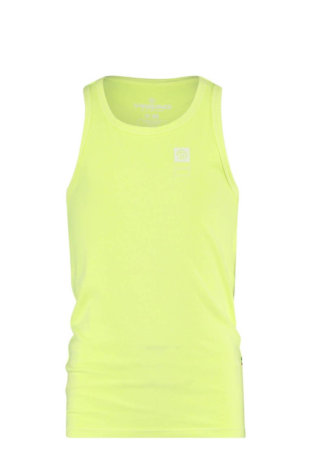 Vingino Essentials singlet neon geel, Neon geel