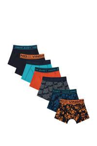 Vingino   boxershort Sensation - set van 7 multicolor, Donkerblauw/multicolor
