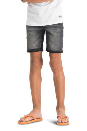 jeans bermuda Capo dark grey vintage