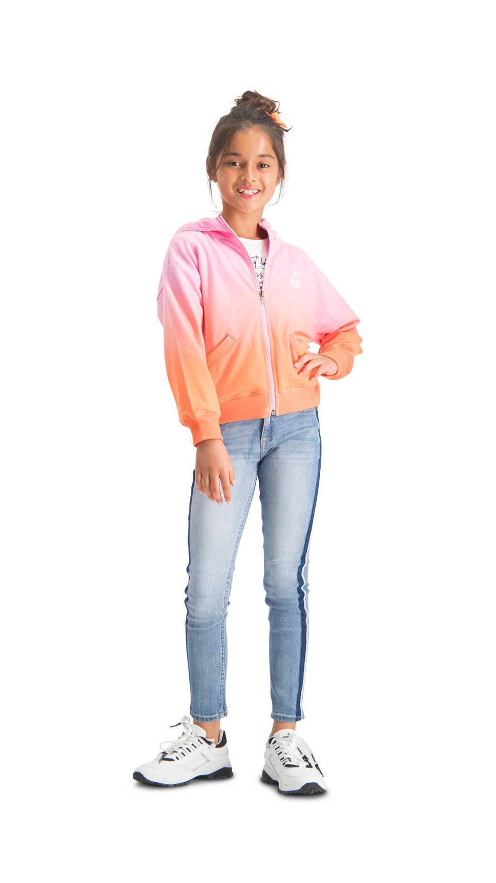 Vingino dip-dye vest Oneida donkerroze/oranje, Donkerroze/oranje