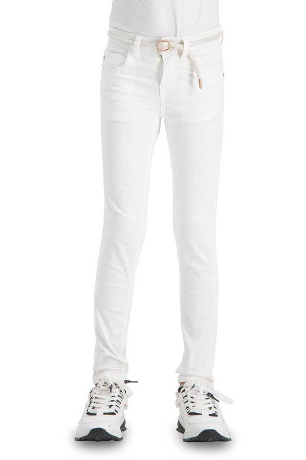 Vingino high waist super skinny jeans Belize Color wit, Wit